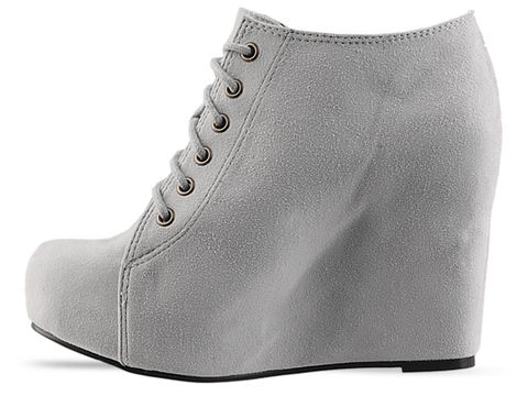 Jeffrey Campbell In Chalk Suede 99 Tie