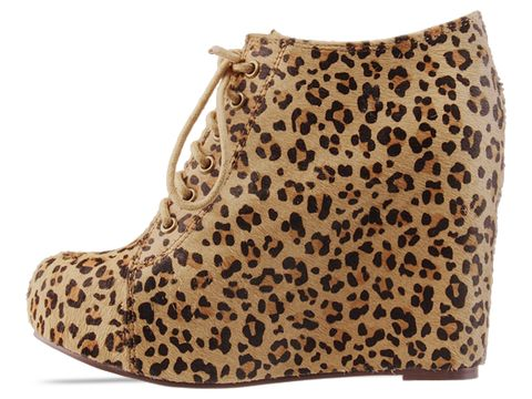 Jeffrey Campbell In Cheetah 99 Tie Fur