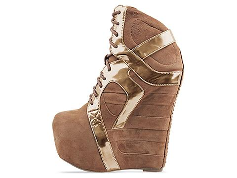 Jeffrey Campbell In Nude Rose Gold Aksana