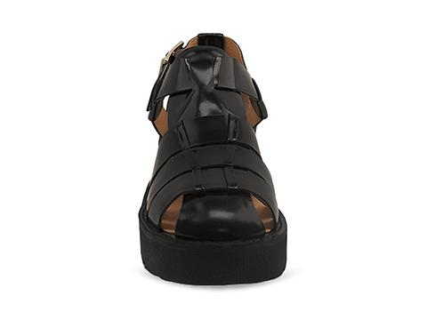 Jeffrey Campbell In Black Box Calf Argo