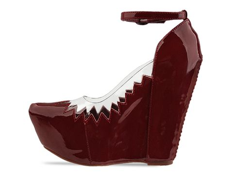 Jeffrey Campbell In Dark Red Audrey Two