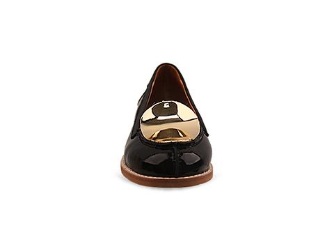 Jeffrey Campbell In Black Patent Gold Avon