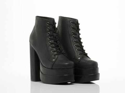 Jeffrey Campbell In Black Ballistic