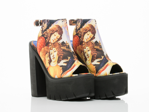 Jeffrey Campbell In Yellow Portrait Barclay Fabric