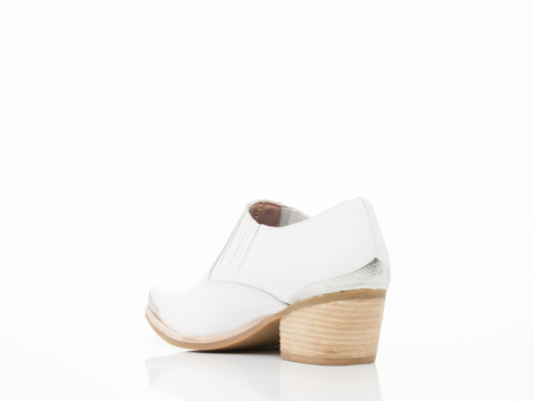 Jeffrey Campbell In White Silver Barstow MT