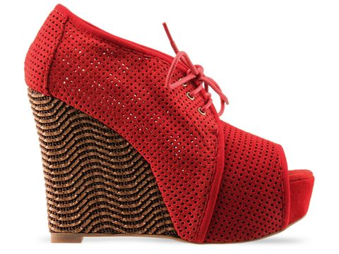 Jeffrey Campbell In Red Be Well