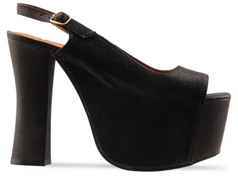 Jeffrey Campbell In Black Big Girl