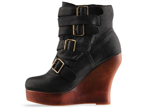 Jeffrey Campbell In Black Leather Bjork