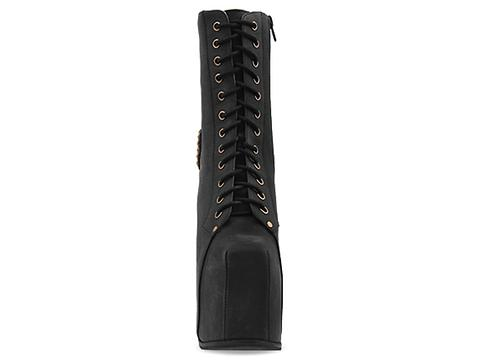 Jeffrey Campbell In Black Washed Multi Bl Cross