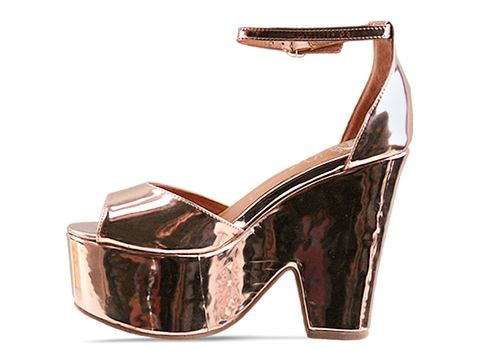 Jeffrey Campbell In Rose Gold Brazen