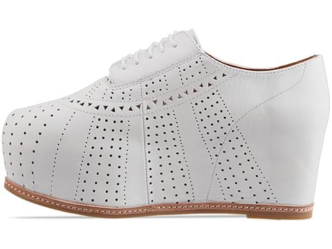 Jeffrey Campbell In White Perf Bright 2