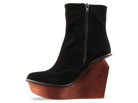 Jeffrey Campbell In Black Suede Brisbane