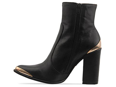 Jeffrey Campbell In Black Leather Bruni
