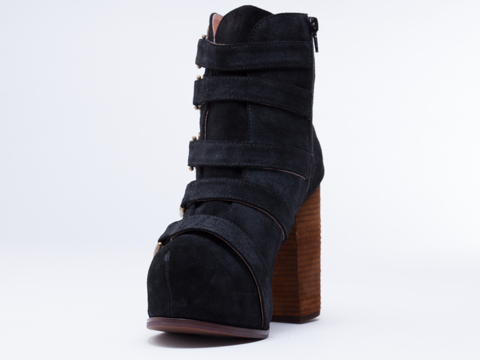 Jeffrey Campbell In Black Suede Bunyan