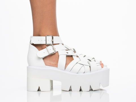 Jeffrey Campbell In White Cake 2