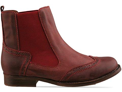 Jeffrey Campbell In Wine Distressed Capstain