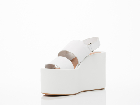 Jeffrey Campbell In White Carnie
