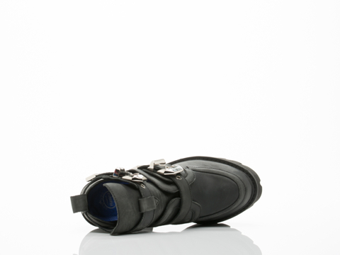 Jeffrey Campbell In Black Washed Cassius