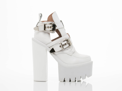 Jeffrey Campbell In White White Cassius