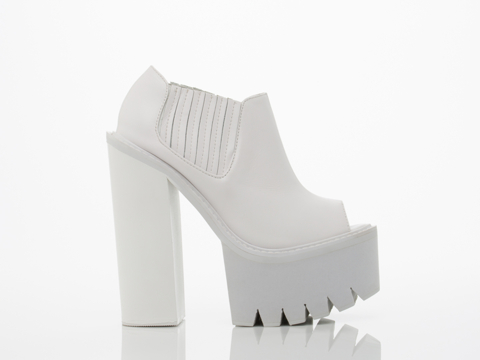 Jeffrey Campbell In White White Castiel