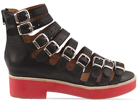 Jeffrey Campbell In Black Red Cayman H 2