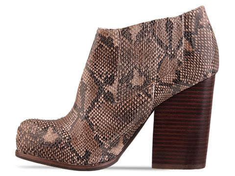 Jeffrey Campbell In Beige Python Clift