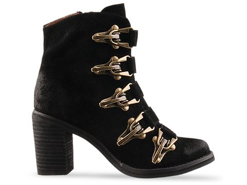 Jeffrey Campbell In Black Suede Climber