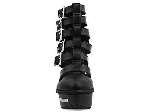 Jeffrey Campbell In Black Calf Clinic