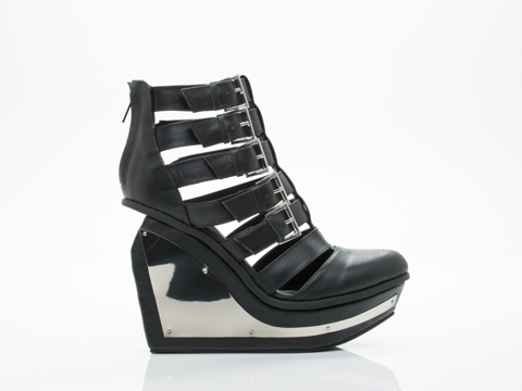 Jeffrey Campbell In Black Clinic 2.0