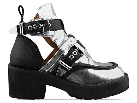 Jeffrey Campbell In Silver Black Coltrane