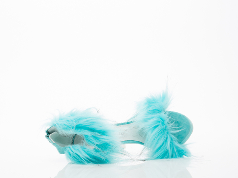 Jeffrey Campbell In Light Blue Cookie