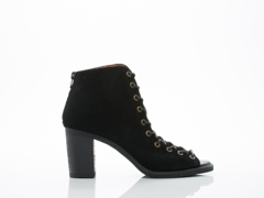 Jeffrey Campbell In Black Distressed Cors 2.0