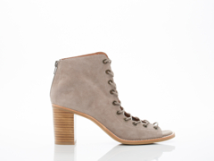 Jeffrey Campbell In Taupe Suede Cors 2.0
