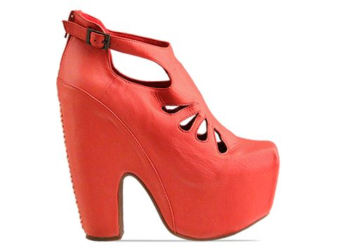 Jeffrey Campbell In Coral Cuffed
