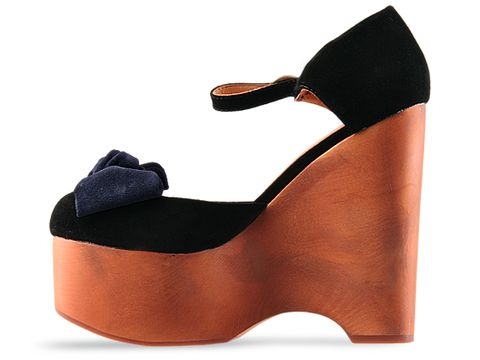 Jeffrey Campbell In Black Navy Suede Daisy D