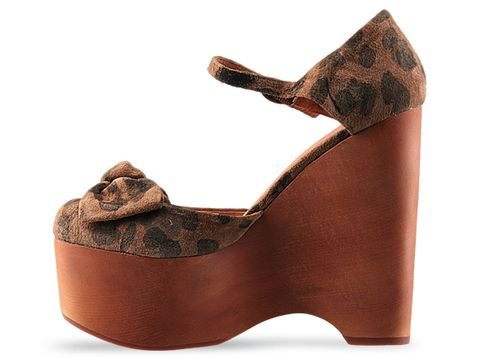 Jeffrey Campbell In Brown Black Cheetah Daisy D