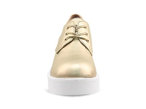 Jeffrey Campbell In Gold White Daltrane