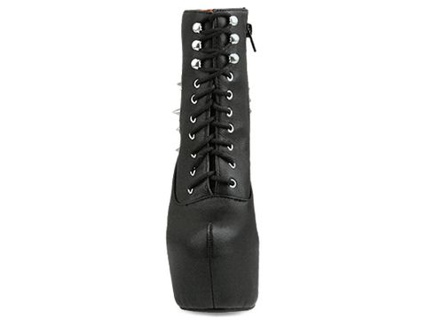 Jeffrey Campbell In Black Silver Damsel Spike