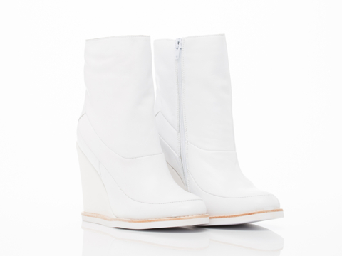 Jeffrey Campbell In White Davros Lo