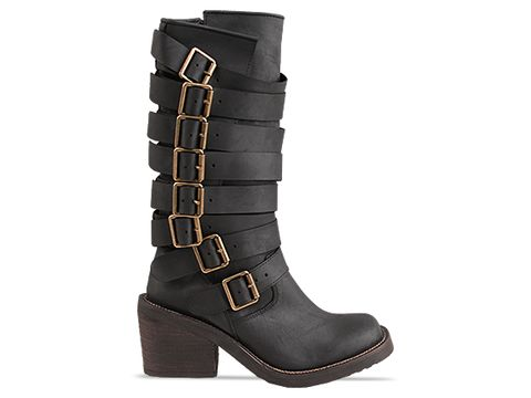 Jeffrey Campbell In Black Distressed Deanne 2
