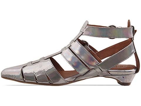 Jeffrey Campbell In Silver Hologram Deetz