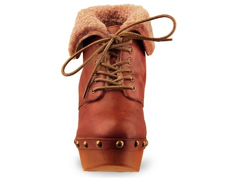 Jeffrey Campbell In Brown Leather Denmark