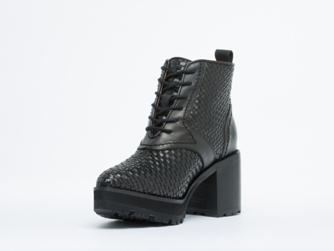 Jeffrey Campbell In Black Desoto Woven