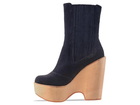 Jeffrey Campbell In Blue Suede Detention