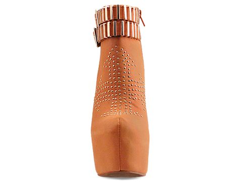 Jeffrey Campbell In Orange Gold Dollywood