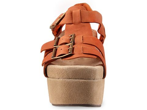 Jeffrey Campbell In Orange Leather Douma
