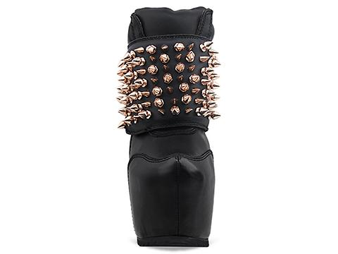Jeffrey Campbell In Black Gold Dramo Spike