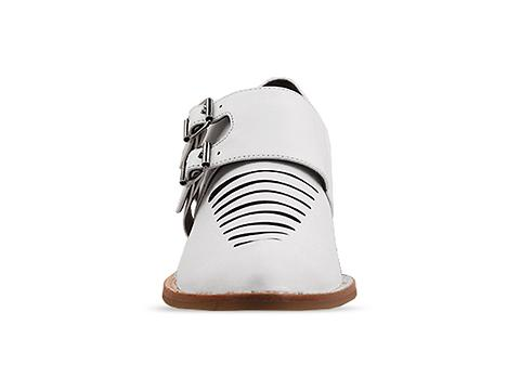 Jeffrey Campbell In White Leather Dulles