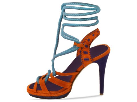Jeffrey Campbell In Orange Blue Duncan