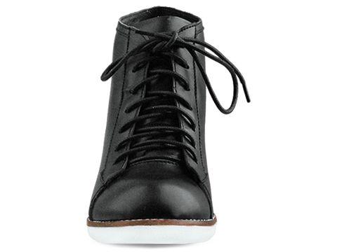 Jeffrey Campbell In Black Leather Edea Spike